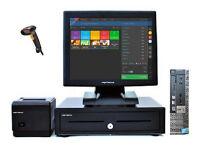 """Full 17"""" Dell Optiplex Retail/Hospitality EPOS POS Cash Register Till System"""