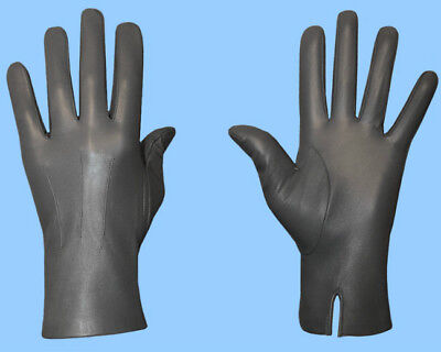 NEW MENS size 7.5 or XS UNLINED GENUINE GREY LAMBSKIN LEATHER DRESS GLOVES