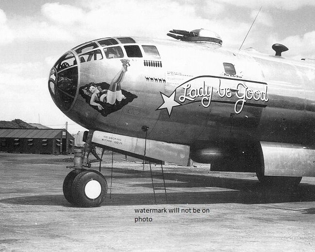 "B-29 Superfortress Bomber Lady Be Good 8""x 10"" World War II Photo Picture #141"