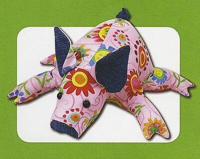 New Stuffed Animal Doll Pattern   PETUNIA PIG  11 inch