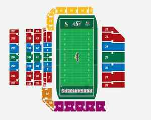 4 Tickets to Oct 22 Rider  Game - Excellent Seats, Reduced Price