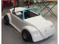 Vw beetle Kids petrol totrod toylander ! With mould to make more shells