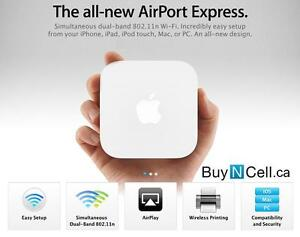 SEALED LATEST APPLE AIRPORT EXPRESS + APPLE STORE WARRANTY