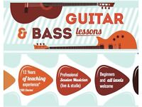 Private Guitar lessons w/professional session musician (record your own song after 5 lessons booked)