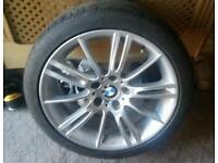 "18"" Genuine BMW M Sport MV3 Alloy Wheel 8j Front"