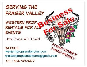 Western Prop/Photo Business For Sale (Chilliwack)