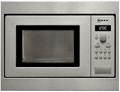 Neff H53W50N3 N30 Einbau-Mikrowelle, 800 W, 45,3cm breit, Memory Funktion, Edels