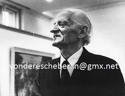 Werner ECKELT: Gert Heinrich WOLLHEIM - NOVEMBER-GRUPPPE - PORTRAIT 1971 VINTAGE