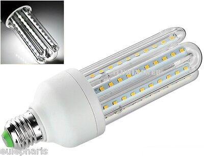 Bombilla E27 Tubular 4U LED SMD 18W Luz Blanca 6500k 1620 Lumens...