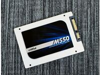 CRUCIAL M550 128GB SSD EXCELLENT CONDITION