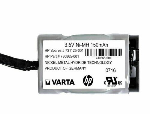Hp Varta 731125-001 Battery Pack - 4.3v Nimh 150mah With Cable 730865-001