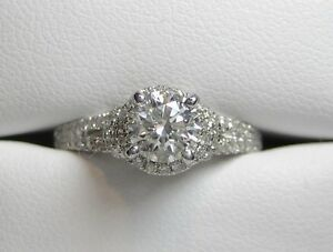 New Engagement Ring1.00 TDW with 0.72CT SI2/I GIA Certified.