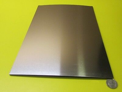 316 Stainless Steel Sheet Annealed .001 Thick X 8.0 Width X 12.0 Length