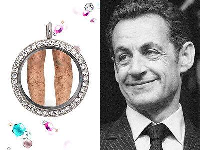 A Lock of Nicolas Sarkozy's Leg Hair