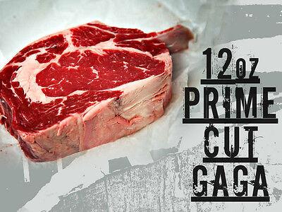 A 12oz Steak From Lady Gaga's Meat Dress
