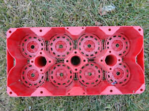 Coca Cola 8 Bottle Carry Tray - Great Condition Kitchener / Waterloo Kitchener Area image 3