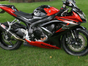 2008 Suzuki 750 GSX-R  Immaculate condition Very Low KMS!!