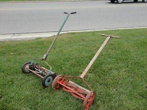 Vintage Belle Isle Early 1910's Cast Iron Reel Mower Still Works Kitchener / Waterloo Kitchener Area image 8