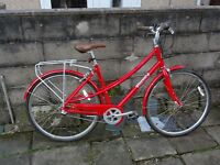 Like New Pinnacle Ladies 3 Speed Hybrid Bike Size 50CM/19IN