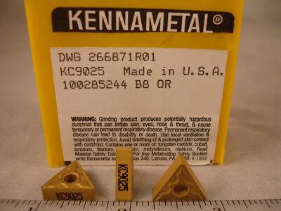 Tnmg 332 Kc9025 Kennametal Carbide Inserts 10pcs 915