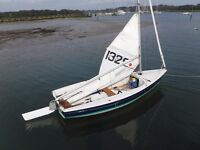 SAILS AND RUDDER WANTED FOR A LASER 13 SAILING DINGHY CASH WAITING ANY CONDITION WILL TRAVEL TO BUY