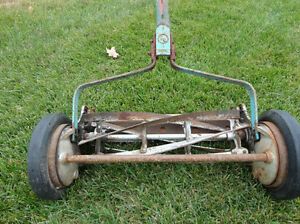Vintage Great American Late 1940's Reel Push Mower -Still Works Kitchener / Waterloo Kitchener Area image 4