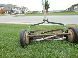 Vintage Great American Late 1940's Reel Push Mower -Still Works Kitchener / Waterloo Kitchener Area image 6