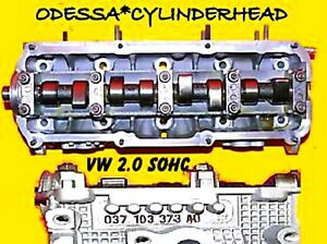 GASOLINE VW BEETLE GOLF JETTA GTI 2.0 SOHC AEG CYLINDER HEAD #AD REBUILT