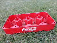 Coca Cola 8 Bottle Carry Tray - Great Condition
