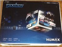 Humax DTR-T1000 500GB YouView PVR Recorder Twin Tuner / Freeview HD Receiver Smart