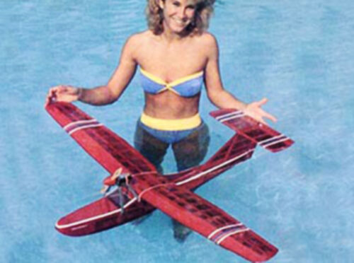 Showboat Electric Seaplane Plans Templates and Instructions  47ws