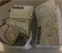 Reebok p4 14k Junior Goalie Gloves. Blocker and Catcher