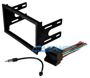 VW CAR STEREO RADIO KIT DASH INSTALLATION MOUNTING TRIM BEZEL WIRING HARNESS