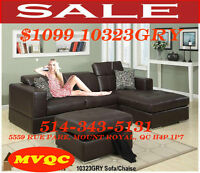 Cheap Prices, L shape sofas, leather corner sectional, Couche