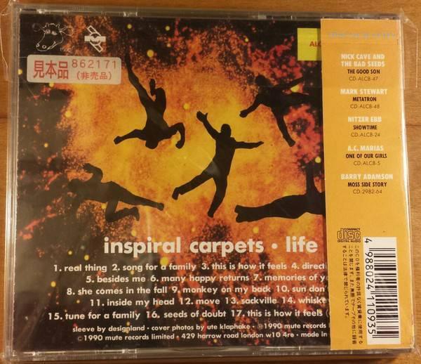 promo Inspiral Carpets – Life cd japan | CDs & DVDs | Gumtree Australia Inner Sydney - Camperdown | 1203906109