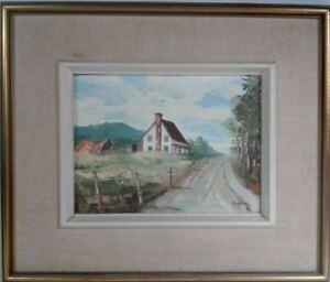 Magnifique toile de l'artiste peintre Pierre Duhamel