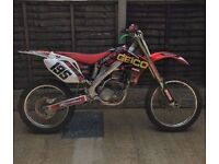 Honda Crf 250 twin pipe not kxf sxf yzf rmz