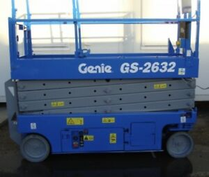 2019 New Genie GS-2632 Electric Scissor Lift