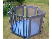 Lindam Safe & Secure Playpen, excellent condition Play Pen with padded mat & original box