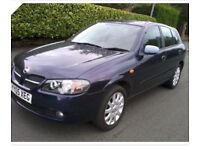 Nissan Almera 1.5 SE 5dr 2005 only 40000 miles full service History