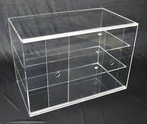 Large Cake Bakery Muffin Donut Pastry 5mm Acrylic Display Cabinet Melbourne CBD Melbourne City Preview