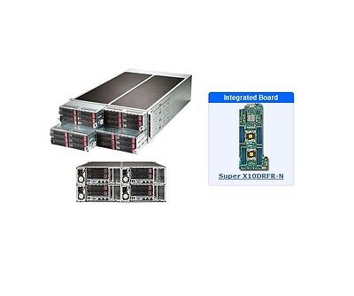 *NEW* Supermicro SYS-F628R3-RC0B+ 4U Server - 4 Hot-plug System Nodes