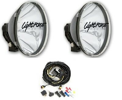 Lightforce Blitz 240mm RMDL240T 100W Powerful Driving Lights with Wiring Harness