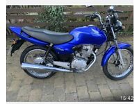 Honda cg 125 (very low miles). Can be delivered! SOLD PENDING FINAL PAYMENT