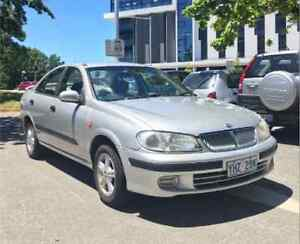 2002 Nissan Pulsar Sedan Acton North Canberra Preview