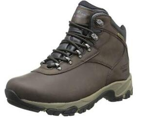 NEW Hi-Tec Mens Altitude V I WP Hiking Boot Condtion: New, Dark Chocolate/Light Taupe/Black, 10 W US