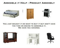 Assemble It Help - Product - Furniture Assembly Service