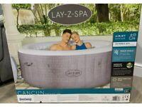 Lay-z-Spa Cancun Hot Tub 4 person ✅