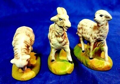 Atlantic Mold Replacement Billy Goat Sheep Christmas Nativity Animal Figure Set