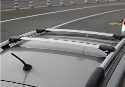 2 Aero Roof Racks for Toyota Land Cruiser Prado 150 Series 09-14 Chipping Norton Liverpool Area Preview
